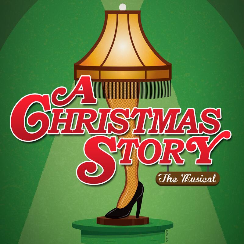 A Christmas Story Musical.A Christmas Story The Musical Orlando Rep